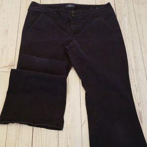 🌹3/$24🌹AEO ARTIST STRETCH BOOTCUT NAVY PANTS
